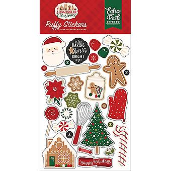 Echo Park A Gingerbread Christmas Puffy Stickers