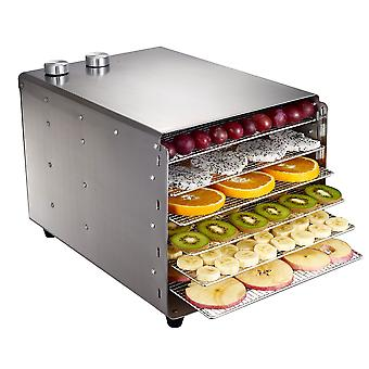 6 Layers Stainless Steel Food Dehydrator For Mushroom/fruit&vegetable Dryer