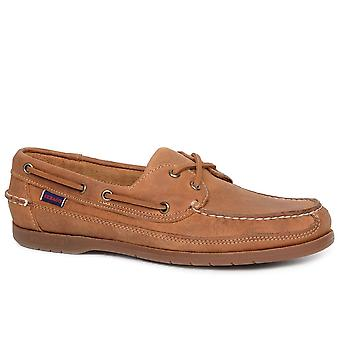 Sebago Schnooner Mens Camurça Sapatos de Barco