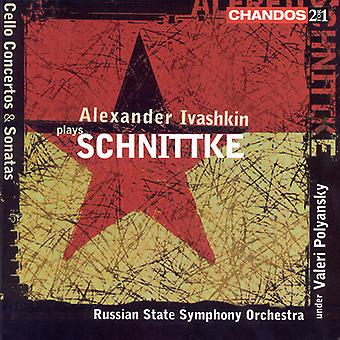 A. Schnittke - Alexander Ivashkin Plays Schnittke [CD] USA import