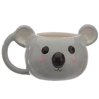 Caneca de cerâmica de coala fofo