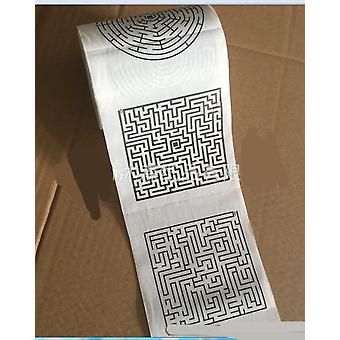 Weiße weiche Toilette Tissue Papier Rollen Bad