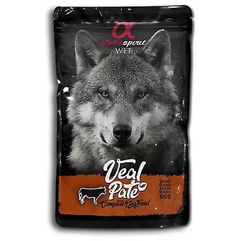 Alpha Spirit Veal Pate (Dogs , Dog Food , Wet Food)