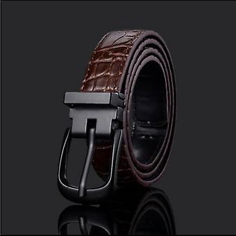 Fashion Pu Leather Waist Art Designer Kids Strap Pin Buckle Pants Beltmal