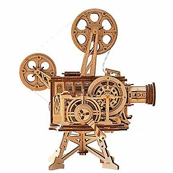 Tractor Projector Wooden Model
