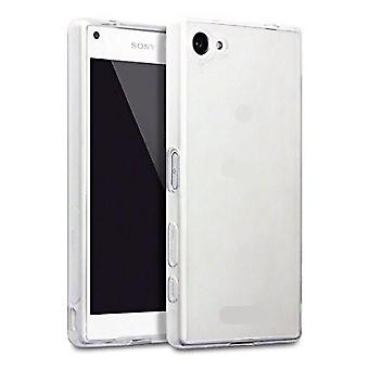 Sony X Compact Transparent Rubber Shell,