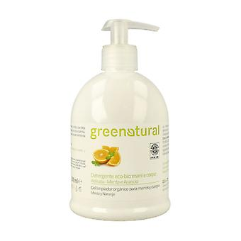 Delicate Mint and Orange Body and Hand Gel 500 ml