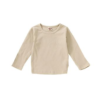 Baby Autumn Winter Knitted Clothes Pullover Sweaters Long Sleeve Solid Cotton