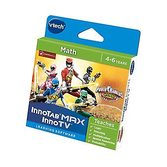 Vtech innotab max power rangers dino charge game