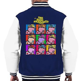 The Magic Roundabout Ermintrude Pop Art Men's Varsity Jacket