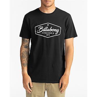 Billabong Men's T-Shirt ~ Trademark black