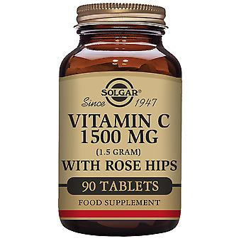 Solgar Vitamina C avec Rose Musquée 1500 mg Comprimidos