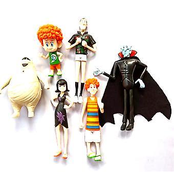 6kpl Hotel Transylvania Figure Lelu Mini Anime Nukke Malli
