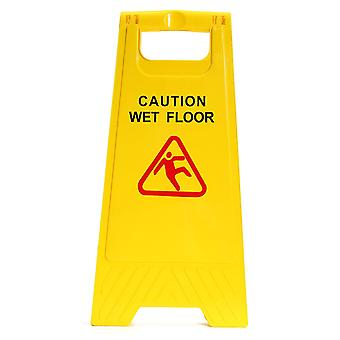 Caution Wet Floor Folding Safety Sign