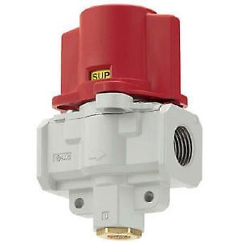 SMC rouge verrouillage robinet soupape de commande manuelle pneumatique, G 3/8