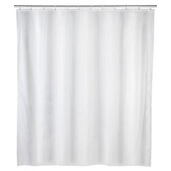 duschdraperi Punto 120 x 200 cm polyester vit