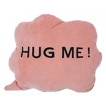 cushion HUG ME! Cloud 35 x 30 x 10 cm plush pink
