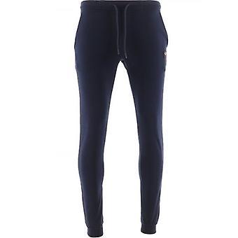Paul & Shark Blue Banded Cuff Fleece Sweatpants