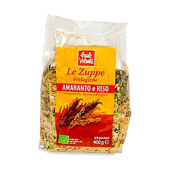 Amaranth and rice soup 400 g