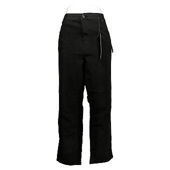 DG2 af Diane Gilman Women's Jeans Plus Classic Stretch Black 718870
