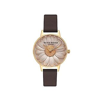 Olivia Burton Analog Quartz Watch Woman with Leather Strap OB15EG38