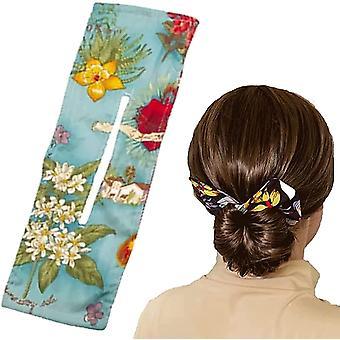 Deft Bun für Haar 6 Farben Mode Haarbänder Frauen Sommer geknotet Draht Stirnband F