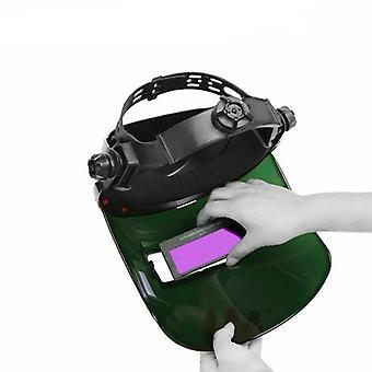 Solar Auto Darken Soudage Lentille Casque Protecteur des yeux