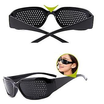 Óculos pinhole, óculos, exercício dos olhos, visão, cura,