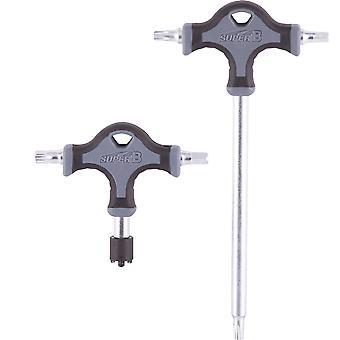 Super B Premium TB-TH20 Chainring Bolt Torx T30 Hex 5mm