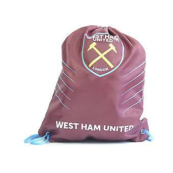 West Ham Spike Draw String Gym Tas