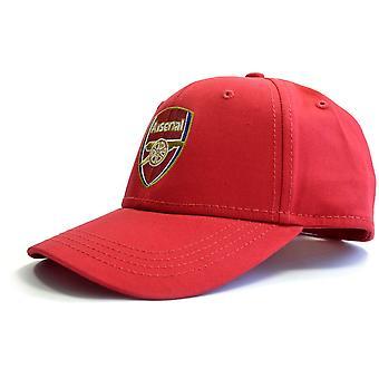 Arsenal Crest Baseball Cap Red