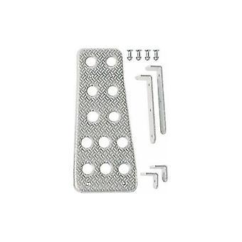 Reposapiés Sparco 03780AN Aluminio