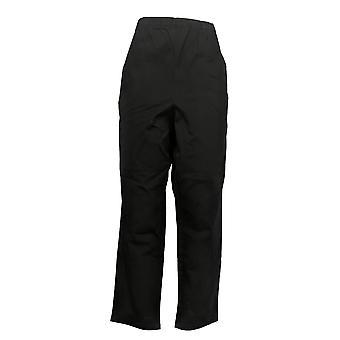Denim & Co. Femmes&apos&s Petit Pantalon Original Waist Side Pocket Noir A375348