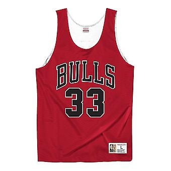 Mitchell & Ness Nba Tank Top Chicago Bulls Scottie Pippen MSTKAJ19080CBUSCWHSPI koripallo ympäri vuoden miesten t-paita