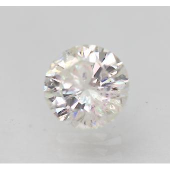 Certificado 0.68 Quilates F SI3 Redondo Brilhante Brilhante Diamante Solto Natural Solto 5.67mm