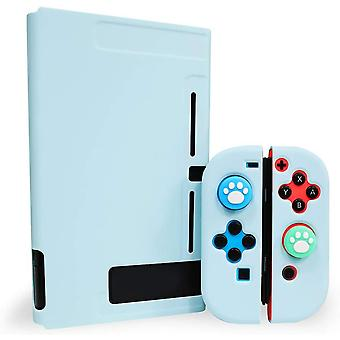 Dockable Case Compatible With Nintendo Switch, Separable Hard Cover Protective Case