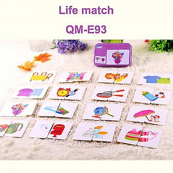 Baby Educational Toys New Head Learning Life Cognitive Map A Pair Of Learning Toys