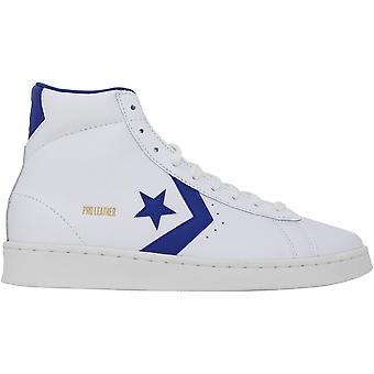 Converse Pro Cuir Hi Blanc/Rush Bleu/Blanc 170359C Homme