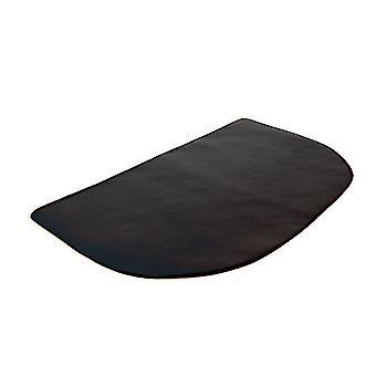 Hearth pads glassfiber silikon belagt teppe for grill bbq halvcirkelformet flamme