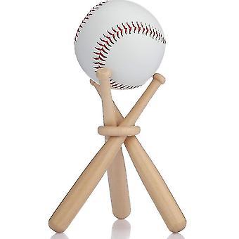 خشبية حامل البيسبول الكرة اللينة مصغرة والقواعد لمشجعي لاعب zf0291