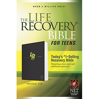 NLT Life Recovery Bible For Teens Personal Size The by Stephen Arterburn