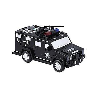 البنك المال توفير مربع شاحنة سيارة سلامة كلمة السر عملة آلة إيداع النقدية للأطفال لعب الهدايا