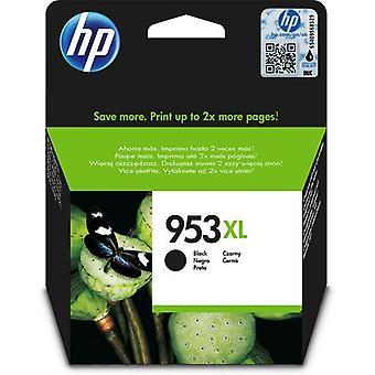 HP 953XL svart original bläckpatron med hög kapacitet, Hög (XL) avkastning, P