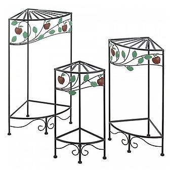 Summerfield Terrace Country Apple Plant Stands - Set of 3, Pack of 1