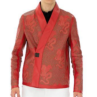 Emporio Armani Men Jacket   Full sleeve Red