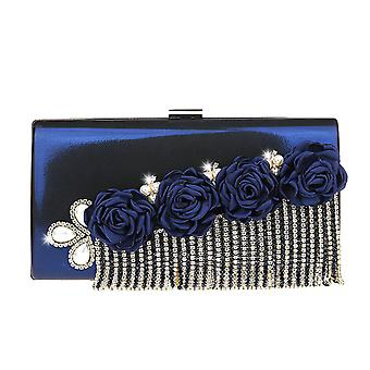 Clutch Bag Tassel Flowers Small Handbag
