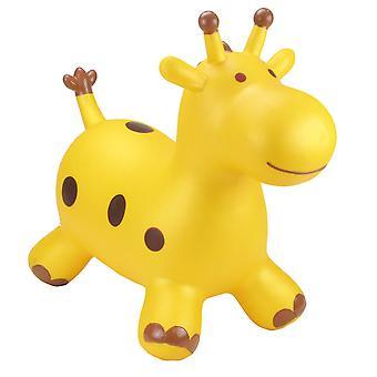 Felfújható ugráló ride játékok - Arany zsiráf