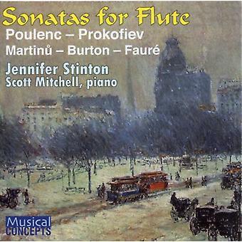 Jennifer Stinton - Sonatas para la importación de los E.e.u.u. de flauta [CD]