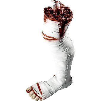 Blutiges Bein Mumie Abgehaktes Bein Deko Halloween