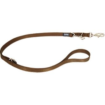 Red Dingo Correa multiposition Lisa Brown (Dogs , Collars, Leads and Harnesses , Leads)